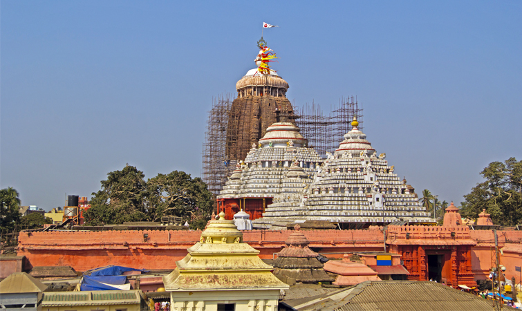 Jagannath Temple (Jagannath Mandir) in Puri