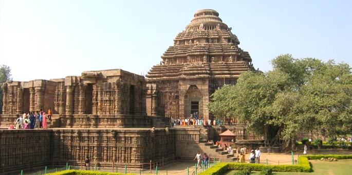 Sun Temple (Surya Mandir) in Konark:
