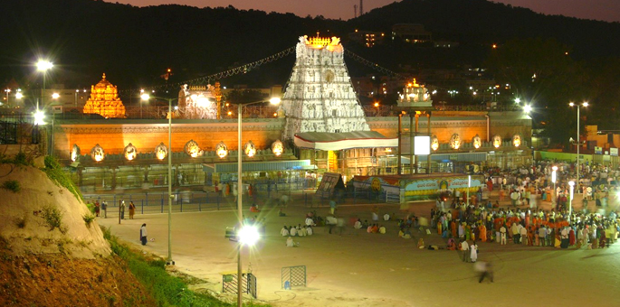 Tirumala Venkateswara Temple in Tirupati: